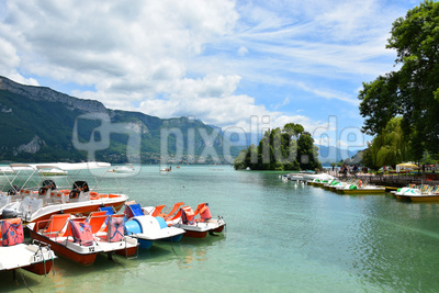 Hafenrundgang in Annecy