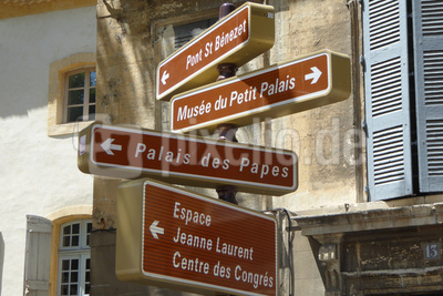 Es gibt viel zu sehen in Avignon