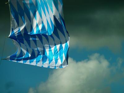 blau-weiss im wind