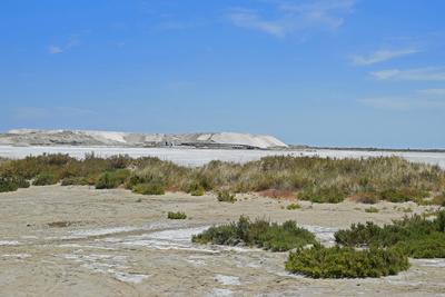 Salzgewinnung in der Plaine de la Camargue