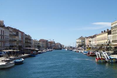 Die kleinen Boote von Sète