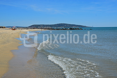 Strandspaziergang an der Narbonne-Plage