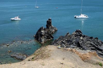 Uferpartie am Cap d'Agde