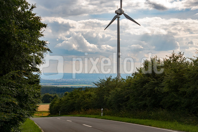 Blick von Eggegebirge in die Paderborner Hochfläche