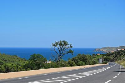 Küstenstrasse Richtung Spanien