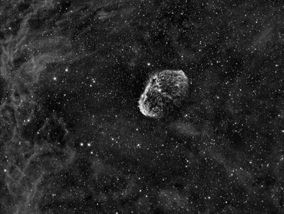 NGC 6888 Crescentnebel im Sternbild Schwan