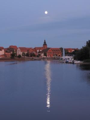 Havelberg bei Vollmond
