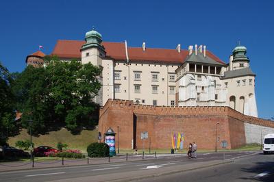 Die Königsburg in Krakau