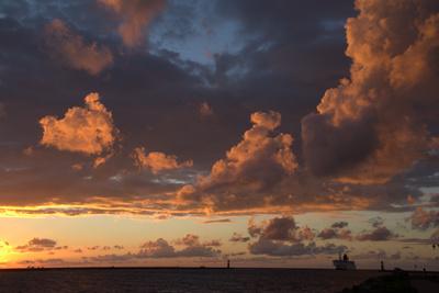 Sunset Warnemünde