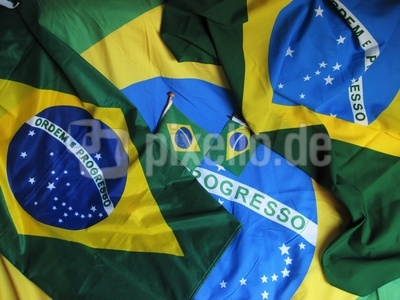 Brasilianische Flaggen
