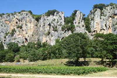 Faszinierende Ardèche-Felsen