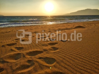 Komos Beach Sunset