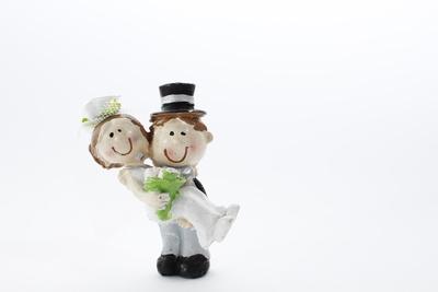 Kleines Brautpaar