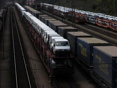 Autotransport auf Schiene