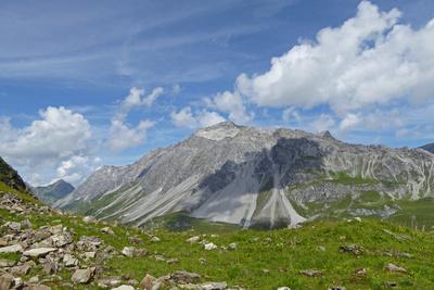 Schesaplana zwischen Schweiz und Österreich