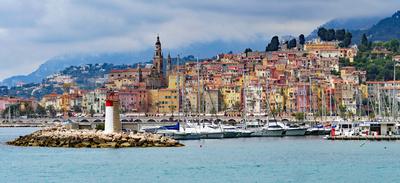Menton, Côte d'Azur , . . . .