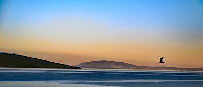 Morgens über der Adria