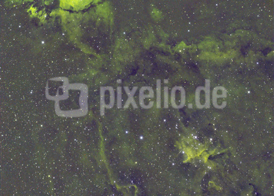 Seelennebel in H-Alpha+OIII+SII