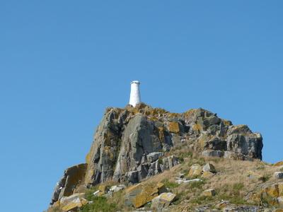 weißer Turm auf Sark