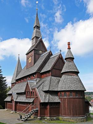 Stabkirche Goslar (Ostseite)