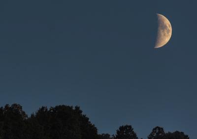 ...der Mond geht auf die Reise