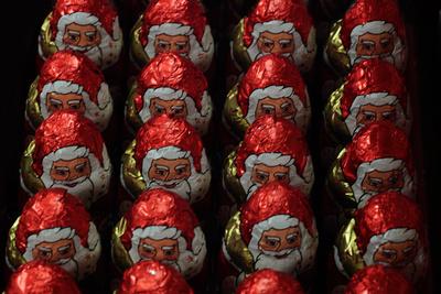 Aufmarsch der Weihnachtsmänner