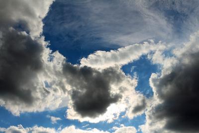 Wolken über Wien