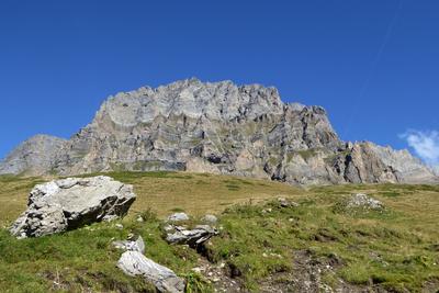 Stotzigberggrat an der Via Alpina