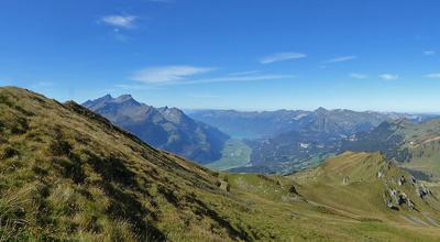 Berner Oberland von Planplatten aus