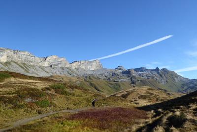 Herbststimmung auf der Via Alpina