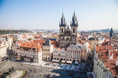Blick in Richtung Teynkirche