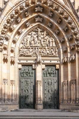Portal Veitsdom Prag