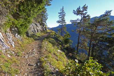 Bergweg zum Le Catogne (2598 Meter)