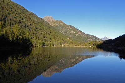 Morgen am Lac de Champex