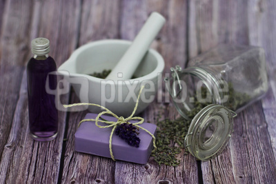 Beauty mit Lavendel
