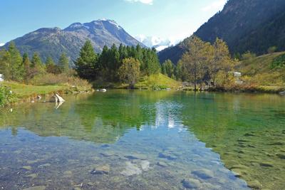 Im Bernina-Gebiet (Graubünden)