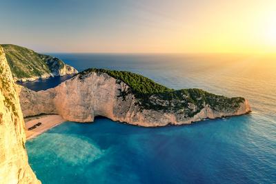 Navagio Schiffswrack / Schmuggler Bucht, Insel Zakynthos, Griechenland