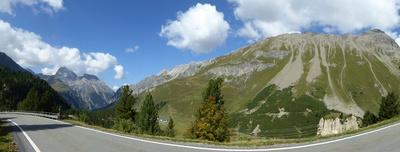 Auf der Bernina-Paßstrasse