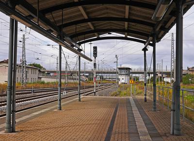 Bahnsteigende