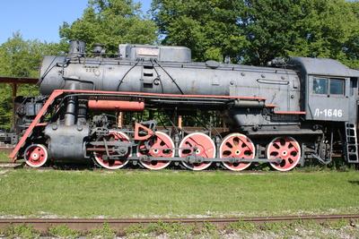 russische L-1646 Dampflokomotive
