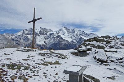 Auf dem Gross Kastel (2828 Meter)