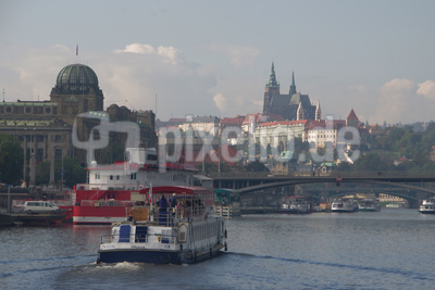 Prager Burg mit Modau