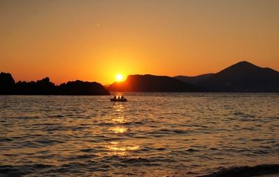 Bucht von Budva , Montenegro
