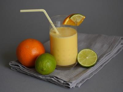 Orangen-Ingwer-Smoothie