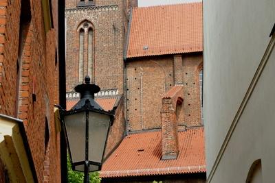 Kirchendach in Wismar