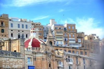 Valletta - Hotels am Großen Hafen