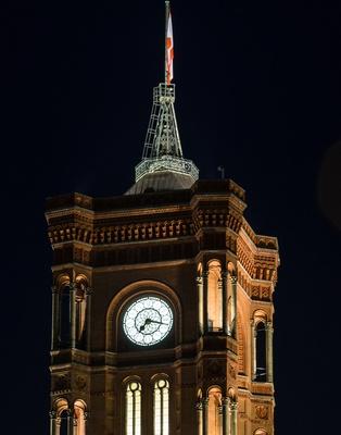 Berliner Rathausturm