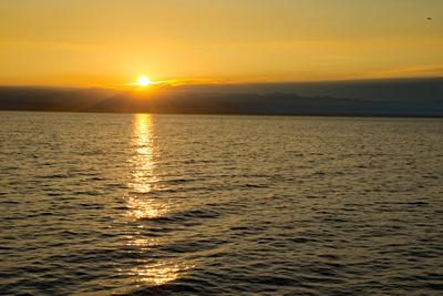 Sonnenaufgang über der Adria