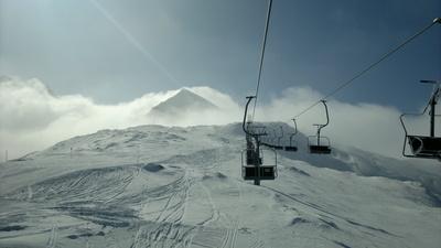 Berg-/Schneepanorama