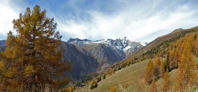 Berglandschaft im Goms (Wallis)